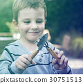 Child Boy Agriculture Crops Planting Nature 30751513