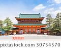 京都 平安神宫 大门 30754570