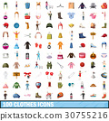 100, clothes, icons 30755216