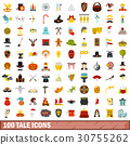 100, tale, icons 30755262