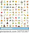 100, plant, icons 30755367