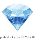 diamond cartoon icon 30755538