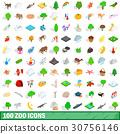 100 動物園 圖標 30756146