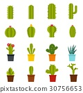 different, cactuses, icon 30756653