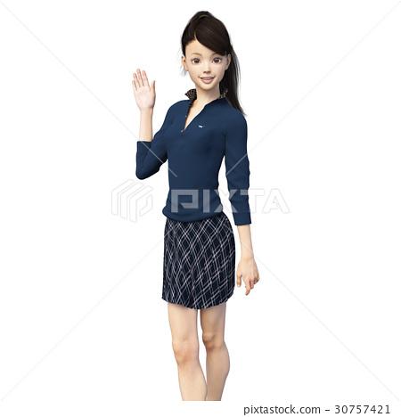 女生 女孩 女性 30757421