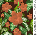 floral seamless pattern 30759655