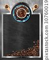 blackboard, coffee, house 30760019