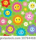 seamless background flower 30764468