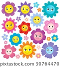 flower heads happy 30764470