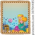 mermaid, sea, ocean 30764485