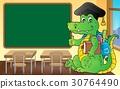 School theme crocodile image 3 30764490
