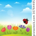Spring topic background 7 30764495