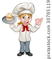 baker,woman,chef 30765119