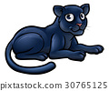 panther black cartoon 30765125