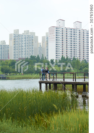 Sangdong Lake Park, Wonmi-gu, Bucheon city, Gyeonggi-do 30765960