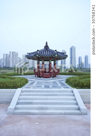 정자,청라호수공원,청라국제도시,서구,인천 30768341