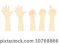 손, 몸 일부, 신체 일부 30768866