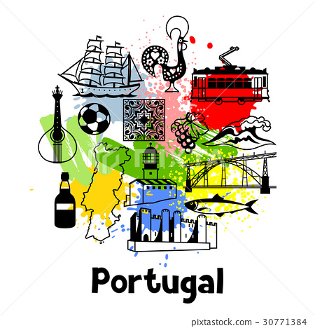 Portugal print design. Portuguese national 30771384