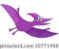 pterodactyloidea, cute, vector 30771488