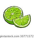 石灰 酸橙 萊姆 30771572