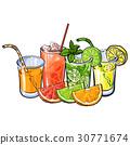 juice, grapefruit, orange 30771674
