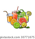 juice, grapefruit, lime 30771675
