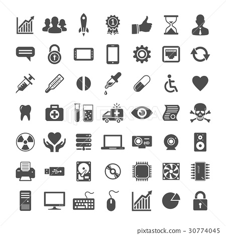 Icon set for website and app 30774045