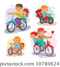 bicycle, set, kid 30780624