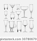 cocktail glass set 30780670