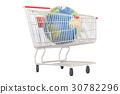 online, globe, shopping 30782296