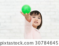 打球的女孩 30784645