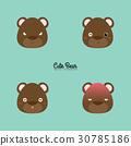 熊 动物 抠图 30785186