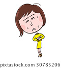 stomach pain, abdominal pain, stomach ache 30785206