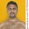 Men Adult Serious Expression Studio 30790004