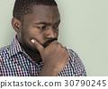african, descent, gesture 30790245