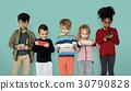 children phone playing 30790828
