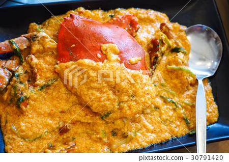 咖哩螃蟹 30791420