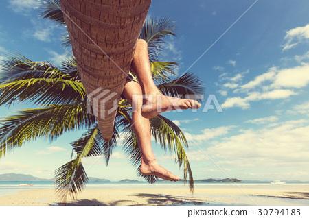 Tropical beach 30794183