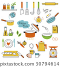 Set of kitchen tools 30794614