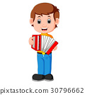 Accordion piano player 30796662