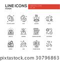 design, icon, line 30796863