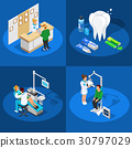isometric, dentist, dentistry 30797029