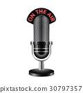Microphone vector illustration 30797357