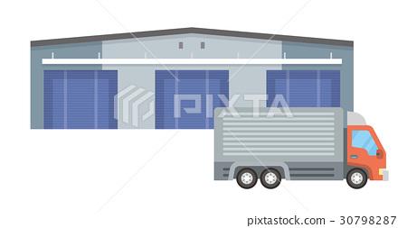 물류 센터 [건물 시리즈] 30798287
