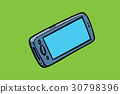 smartphone phone isolate, gadgets and electronics 30798396