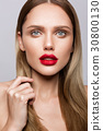beautiful, lips, model 30800130