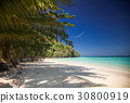 idillyic tropical hidden beach,Thailand 30800919