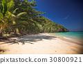idillyic tropical hidden beach,Thailand 30800921