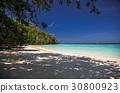 idillyic tropical hidden beach,Thailand 30800923