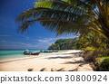 idillyic tropical hidden beach,Thailand 30800924